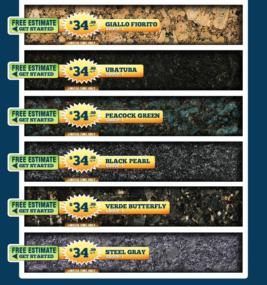 Nice $34.99 GRANITE SALE Cheap DISCOUNTED Countertops. Granite Countertops  Maryland Granite Countertops Maryland